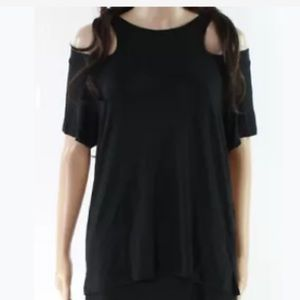 LNA Cold shoulder t-shirt